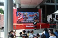 戰隊系列x假面騎士SPECIAL LIVE in Taiwan粉絲見面會@板橋大遠百でステージ設営中