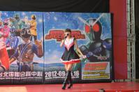戰隊系列x假面騎士SPECIAL LIVE in Taiwan粉絲見面會@板橋大遠百でまずは胡蝶姐姐登場