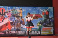 戰隊系列x假面騎士SPECIAL LIVE in Taiwan粉絲見面會@板橋大遠百の胡蝶姐姐カワイイ