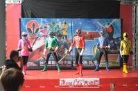戰隊系列x假面騎士SPECIAL LIVE in Taiwan粉絲見面會@板橋大遠百でシンケンジャー登場