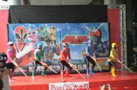 戰隊系列x假面騎士SPECIAL LIVE in Taiwan粉絲見面會@板橋大遠百でシンケンジャーポーズ