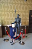 清境儷景豪斯登堡(ハウステンボス)ロビーの甲冑騎士