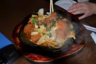 清境儷景豪斯登堡の鉄板豆腐