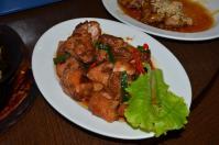 清境儷景豪斯登堡の鶏肉炒め