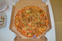 達美樂(domino)ピザの大阪焼ピザ