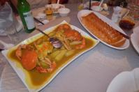 蟹のカレーとパン0923