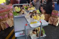 婚約式の宴会料理鍋料理の食材1209
