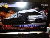 台東で防護策に突き刺さり運転手死亡