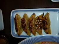 リンガーハット台北駅店の焼き餃子