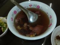 台南牛肉湯と牛肉魯肉飯