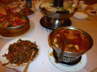 東北酸菜白肉鍋と料理0708