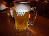北海岸海鮮の生ビール0714