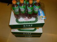 本日は台湾金牌ビール3ケース