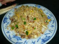 香港富記烤鴨の叉焼炒飯