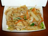 泰式豬河粉(タイ風豚肉フォー炒め)0809