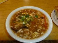 中華鍋貼の酸辣湯0814