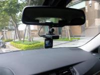 CT200hに取り付けた行車記録器(ドライブレコーダー)