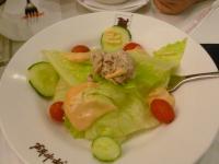 闘牛士蘆洲のセットサラダ1005