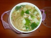 麺フニャフニャの搾菜肉絲麺1015