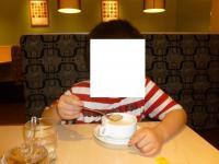COCO壹番屋徐匯廣場店でスープ飲む息子1026