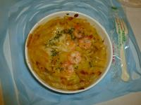 7-11の焗烤鮮蝦筆管麵