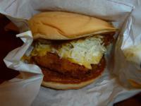 モスバーガーの咖哩豬排堡(カツカレーバーガー)1116