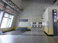 台湾新幹線台南駅の台鉄沙崙站接続口
