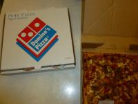 DOMINO PIZZAのPUFFピザx2セット1225