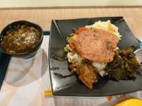 古坑服務區の蒜香豬排飯套餐1226