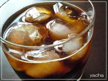 20120611きれいなコーヒーアイス2