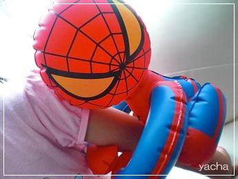 20120617スパイダーマンと