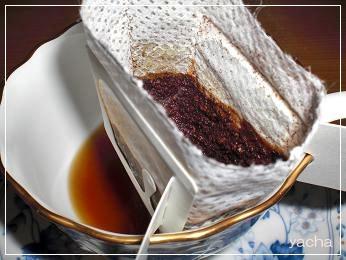 20120621きれいなコーヒー蒸らす