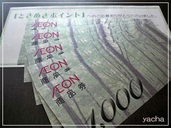 20120718 イオン商品券