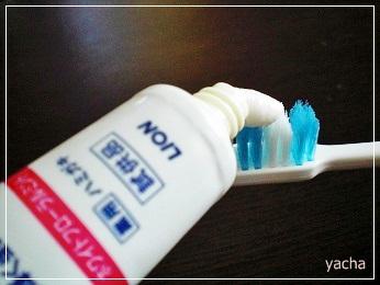 20120917クリニカと歯ブラシ