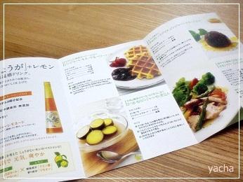 20121007ジンジャーレシピ