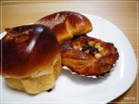 20121025大皿にパン
