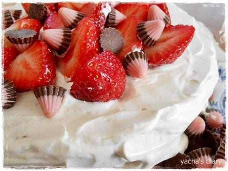 20121213クリスマスケーキ