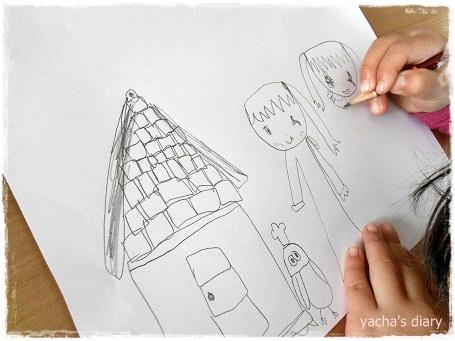 20121216お菓子の家の絵
