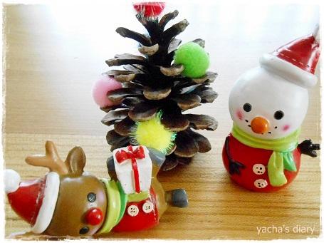 20121221松ぼっくりツリー