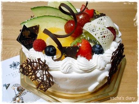 20121228買ってもらったケーキ2