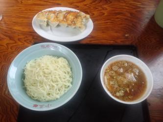 生姜ラーメンつけ麺