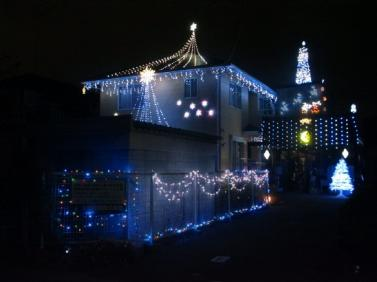 クリスマスイルミネーション2012年バージョン
