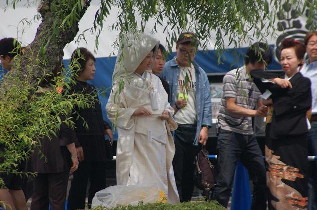 花嫁さんと長唄の師匠