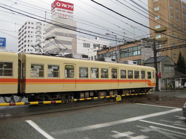 伊予鉄ダイヤモンドクロス2