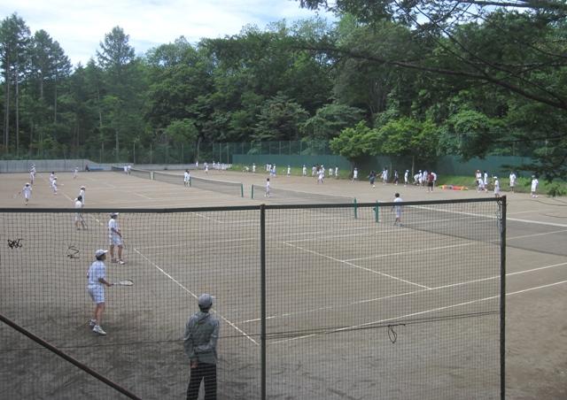 テニス合宿1