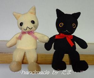 猫ミュージアム納品;おすわり猫さん