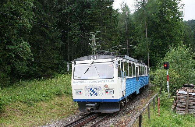 ドイツアルプス登山鉄道