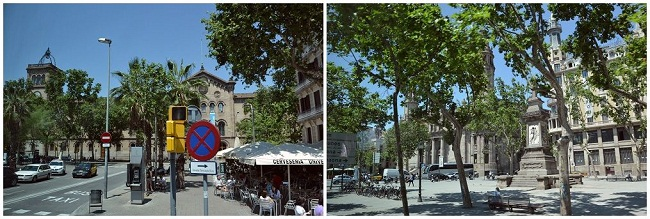 9バルセロナ風景