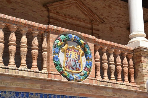 14セビリアスペイン広場