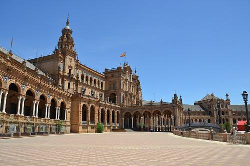 12セビリアスペイン広場